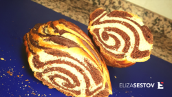 Pan brioches bicolore